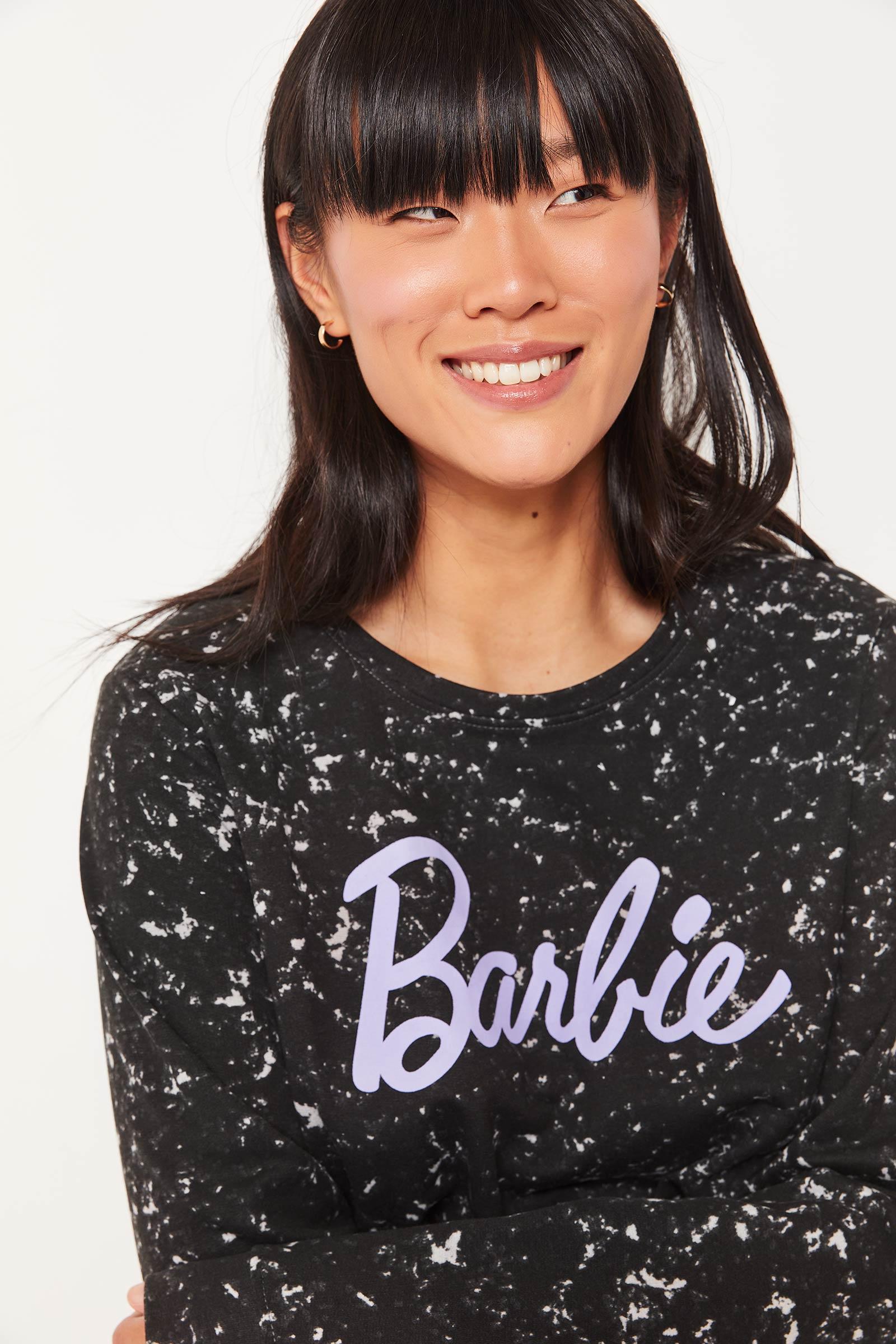 Barbie Marble Sweatshirt