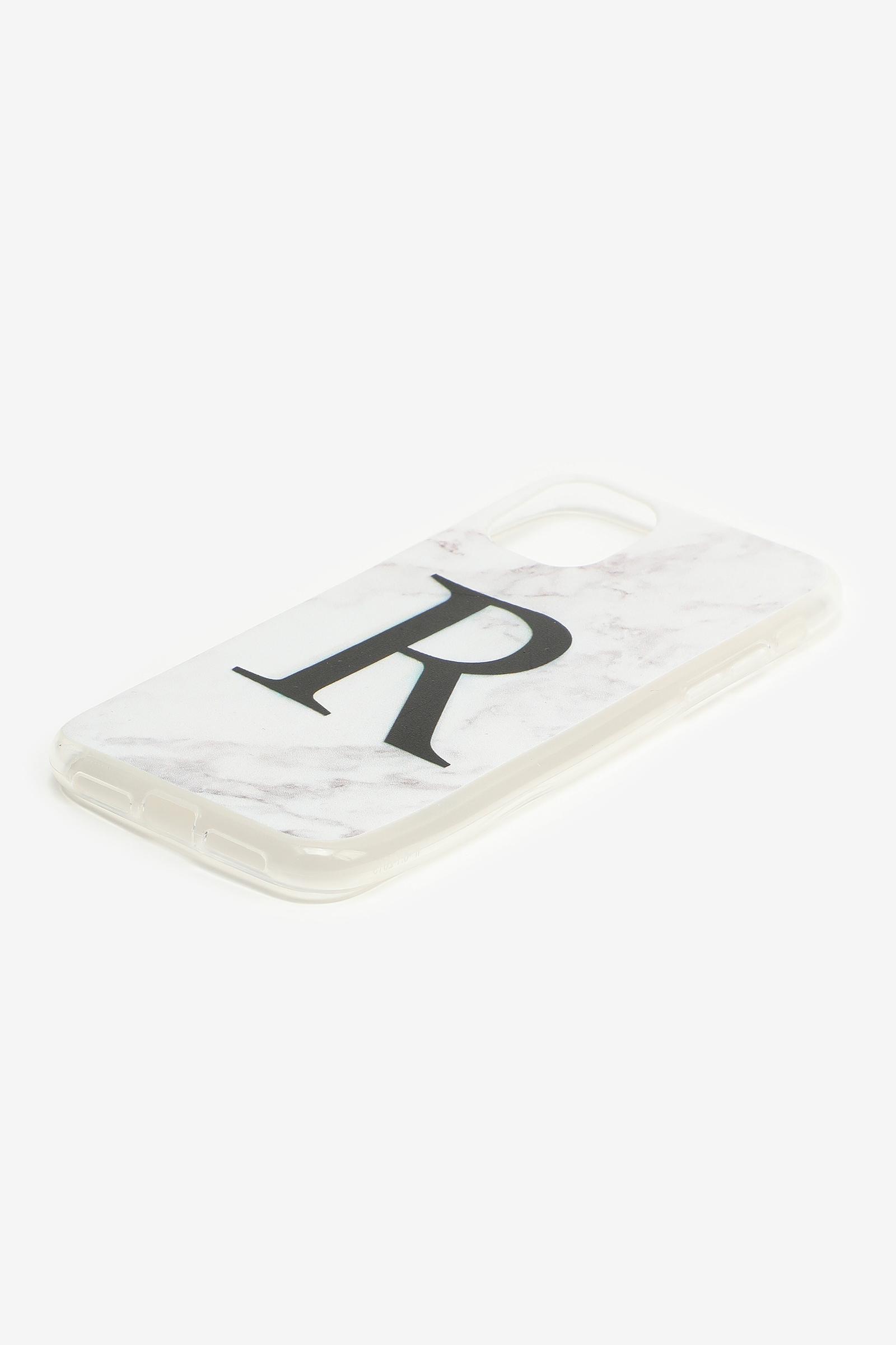 Étui d'iPhone 11 lettre R