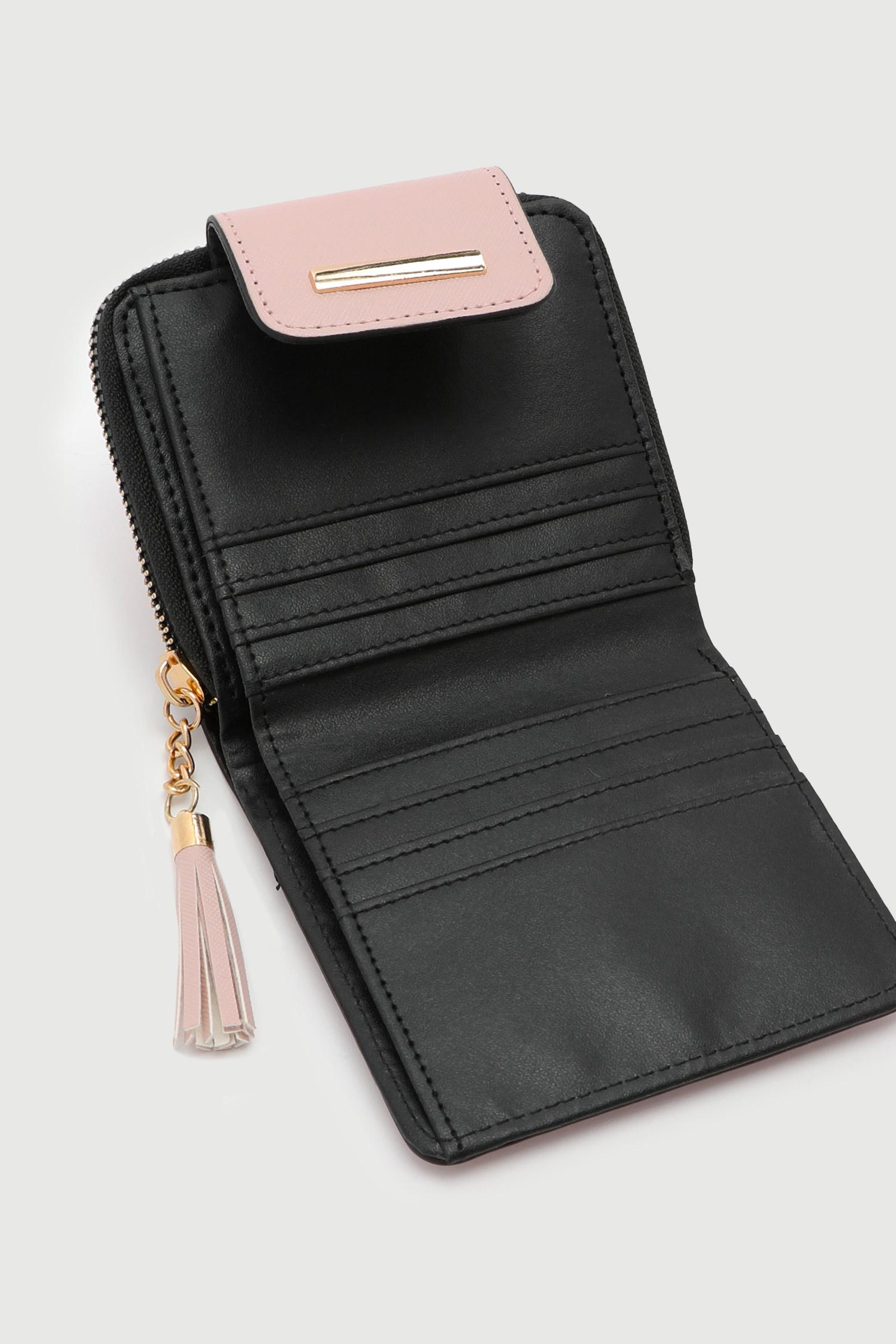 Petit portefeuille plié