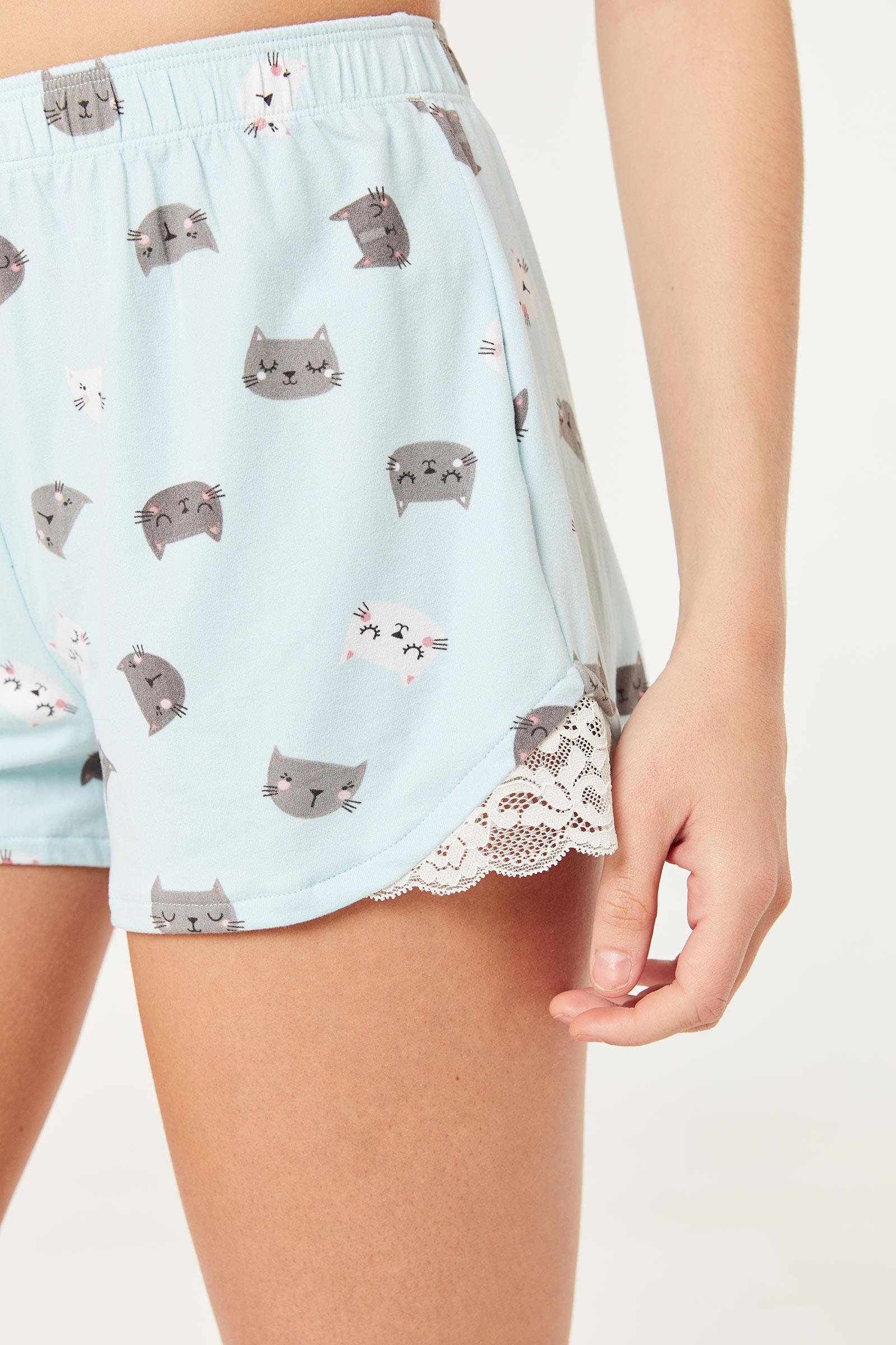 Pyjama à chats
