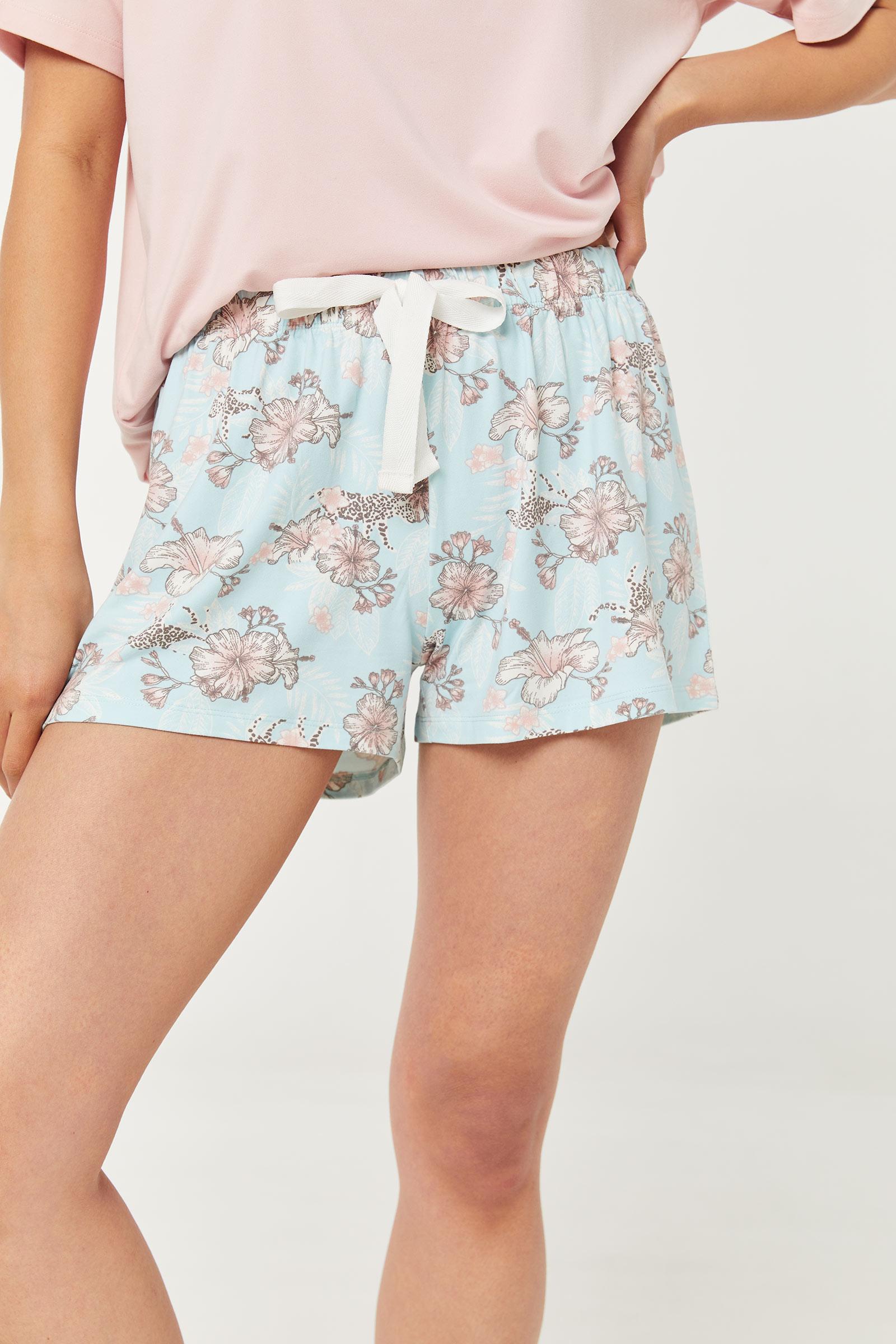 Pyjama 2 pièces fleuri
