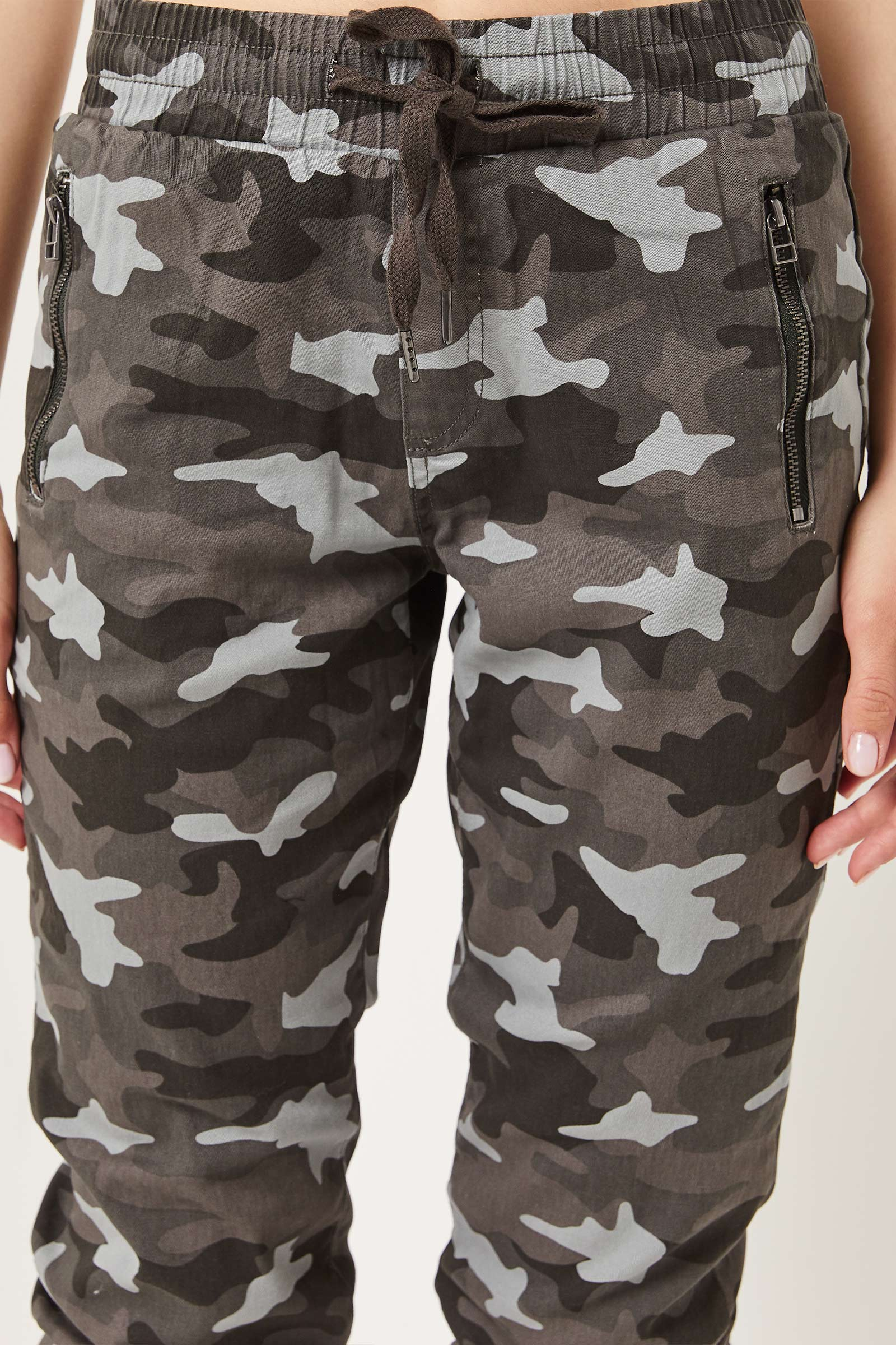 Camo Jogger with Zip Pockets