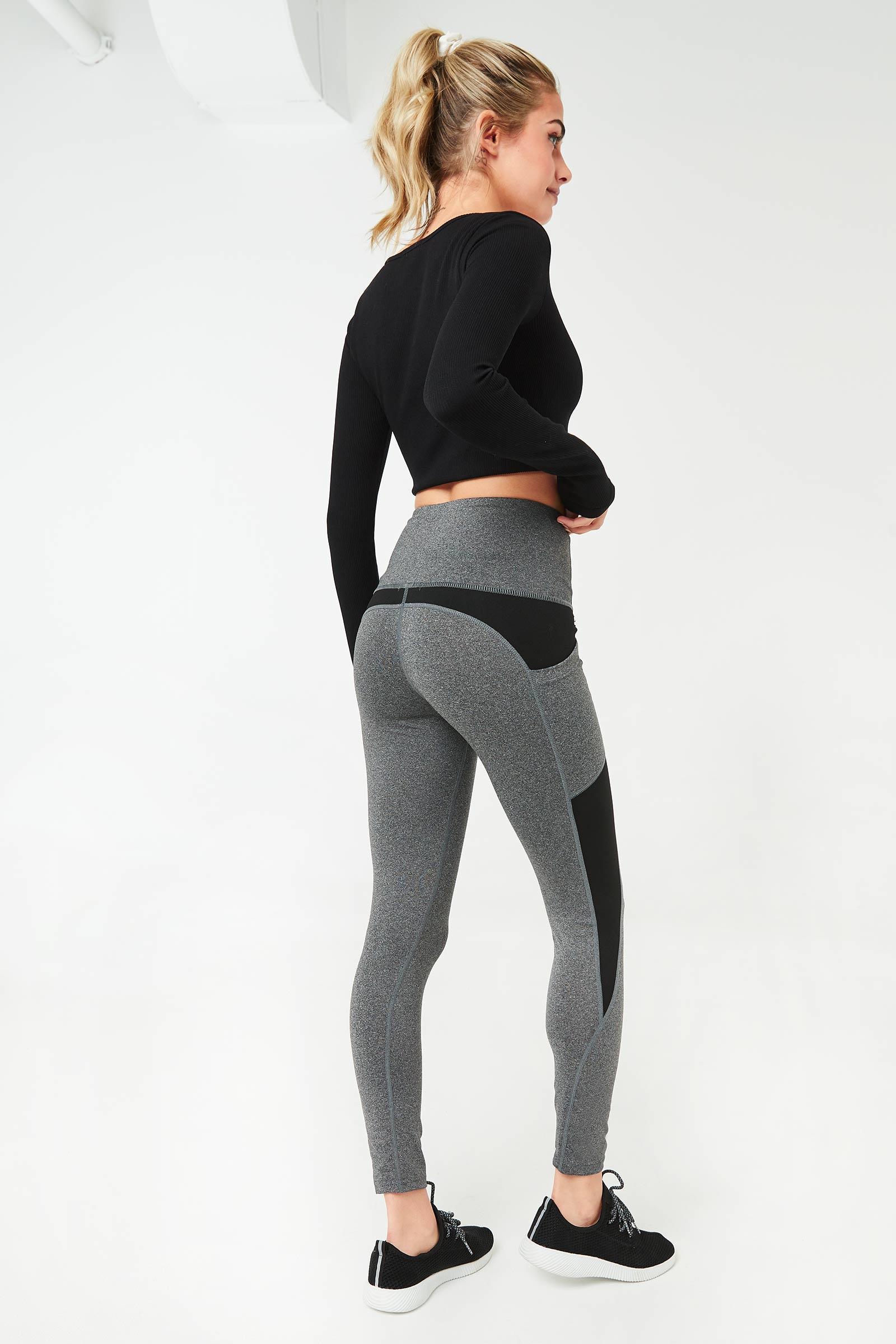 High Rise Leggings with Pocket