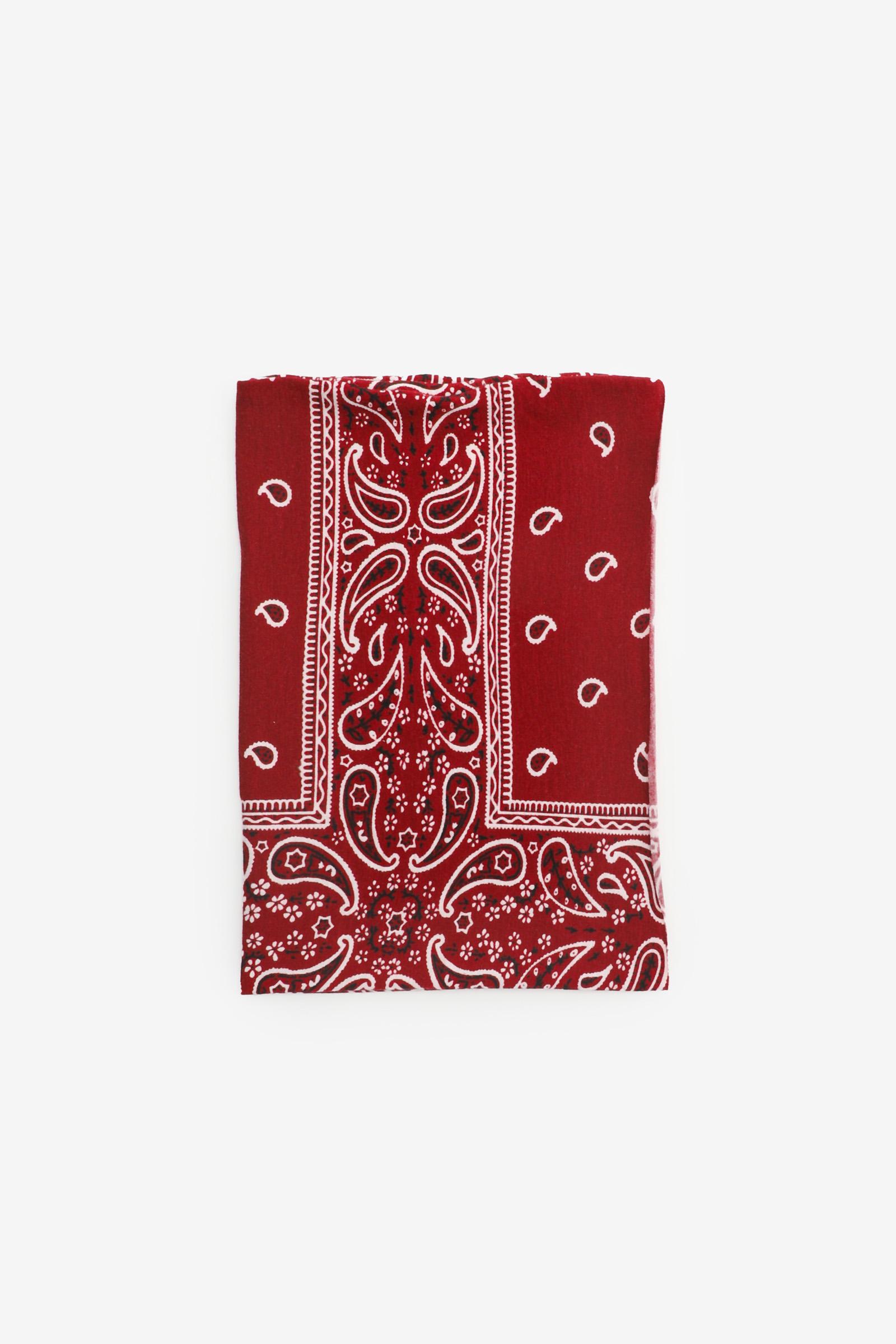 Bandeau large imprimé bandana