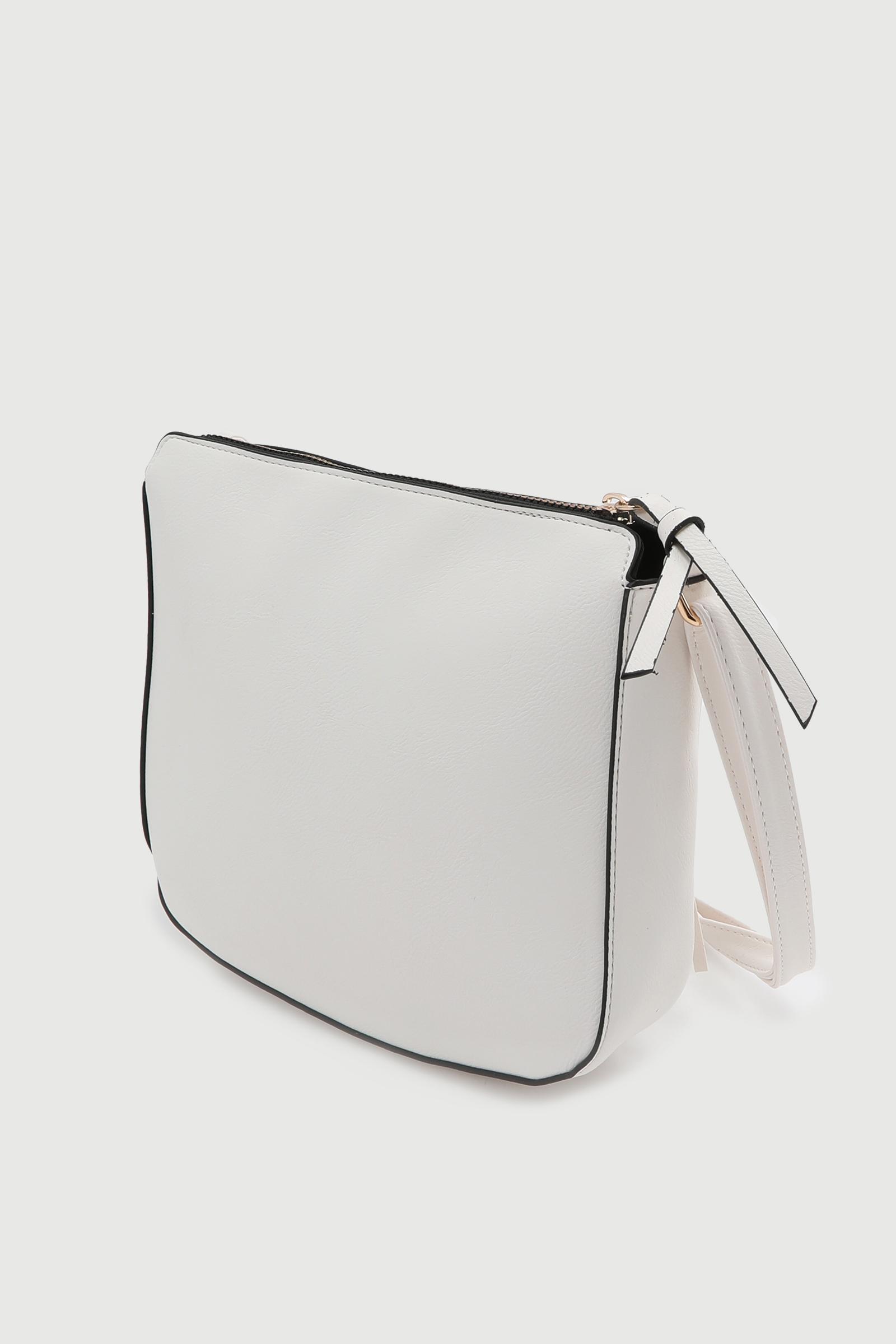 Simple Crossbody Bag with Tassel