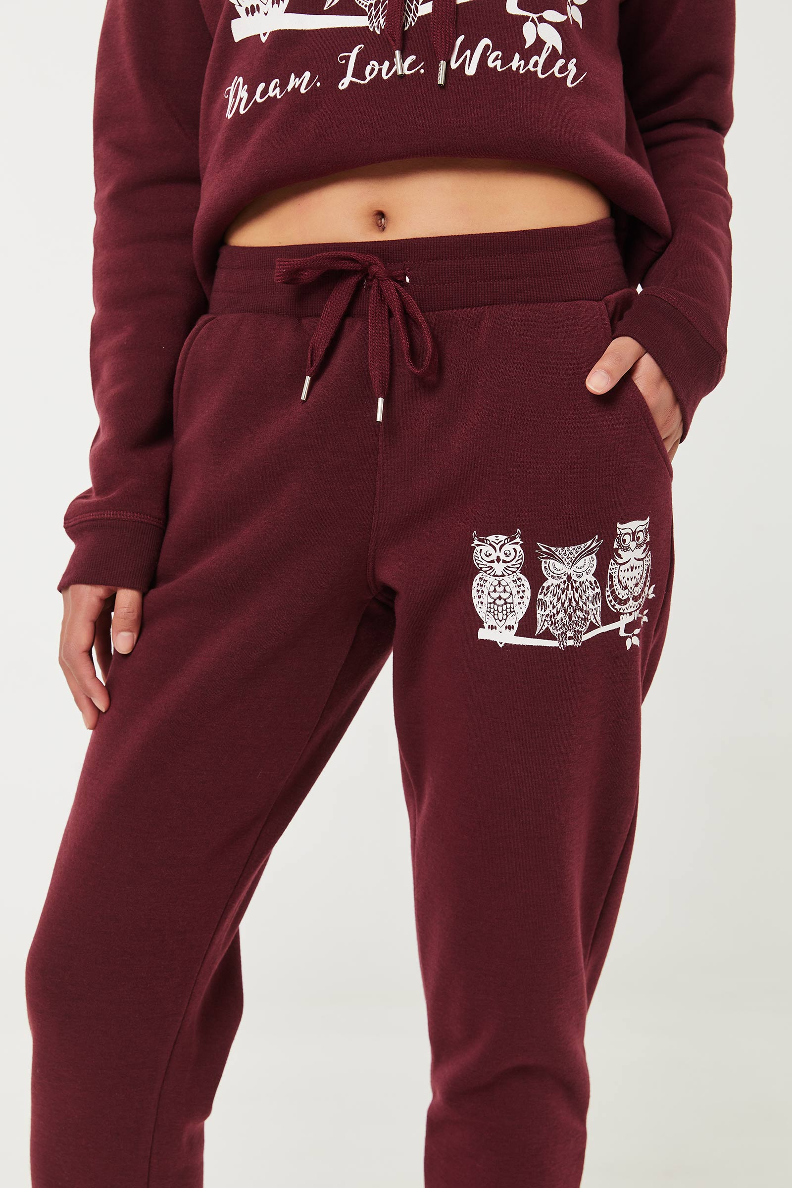 Graphic Joggers