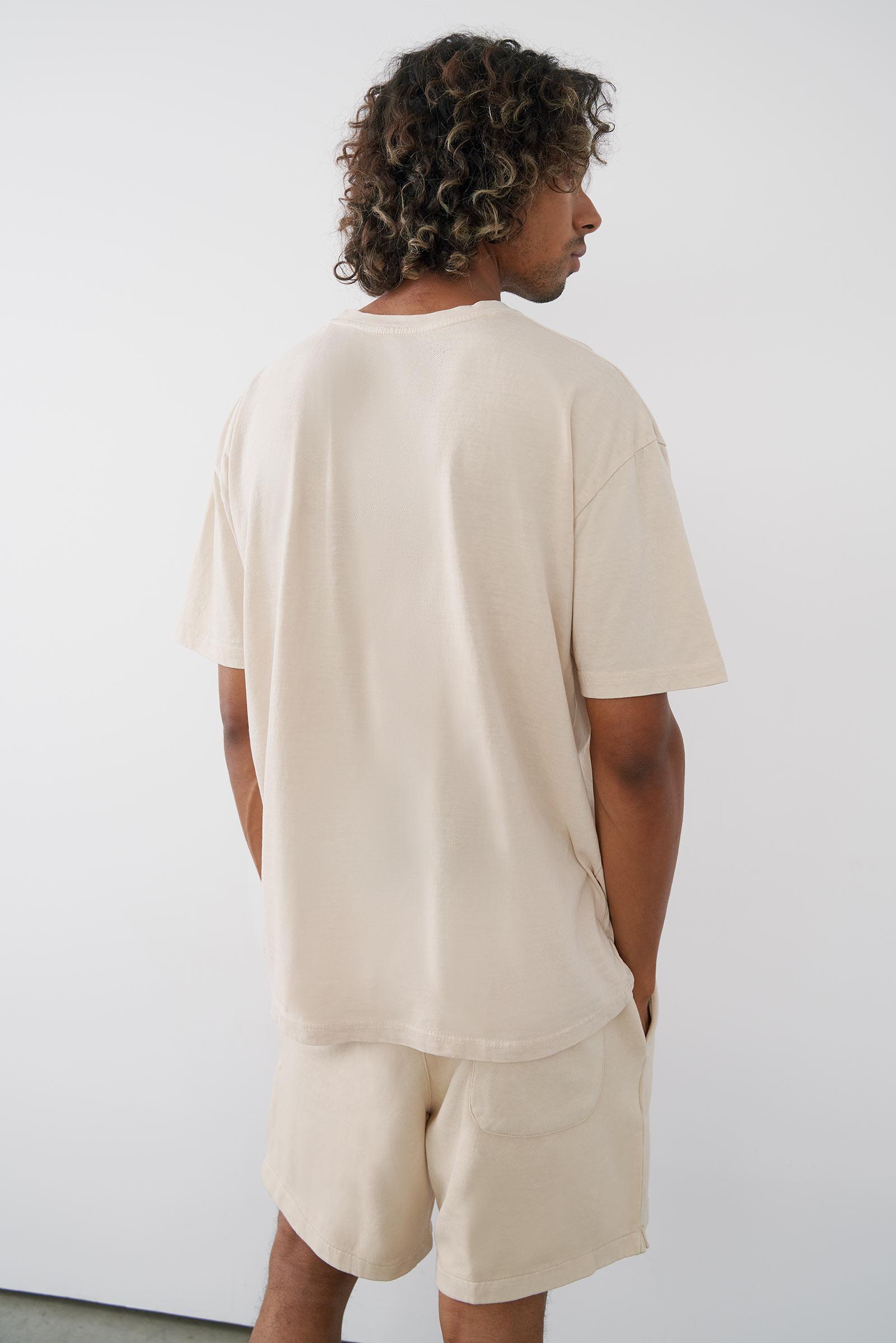 T-shirt carré pour hommes