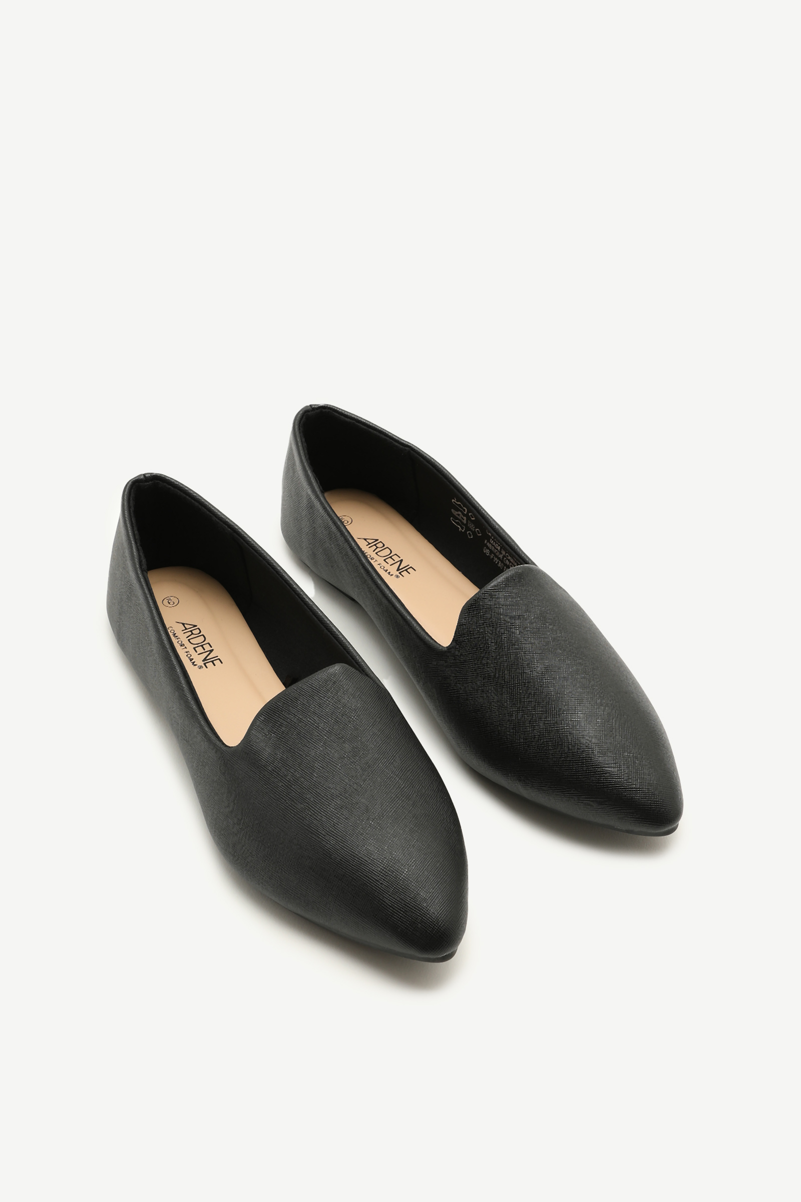 Pointy Toe Microsuede Flats