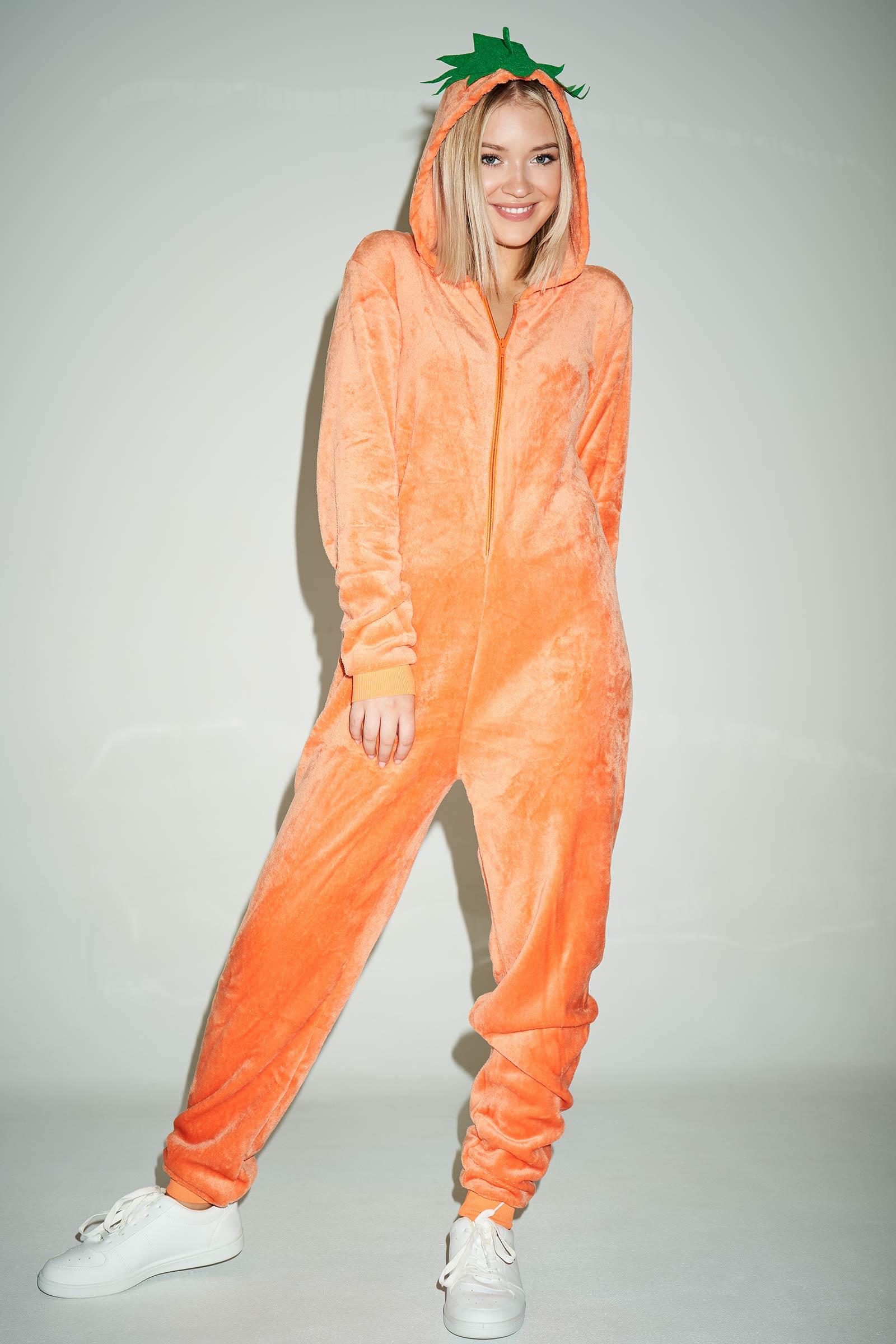 Pumpkin Onesie Costume