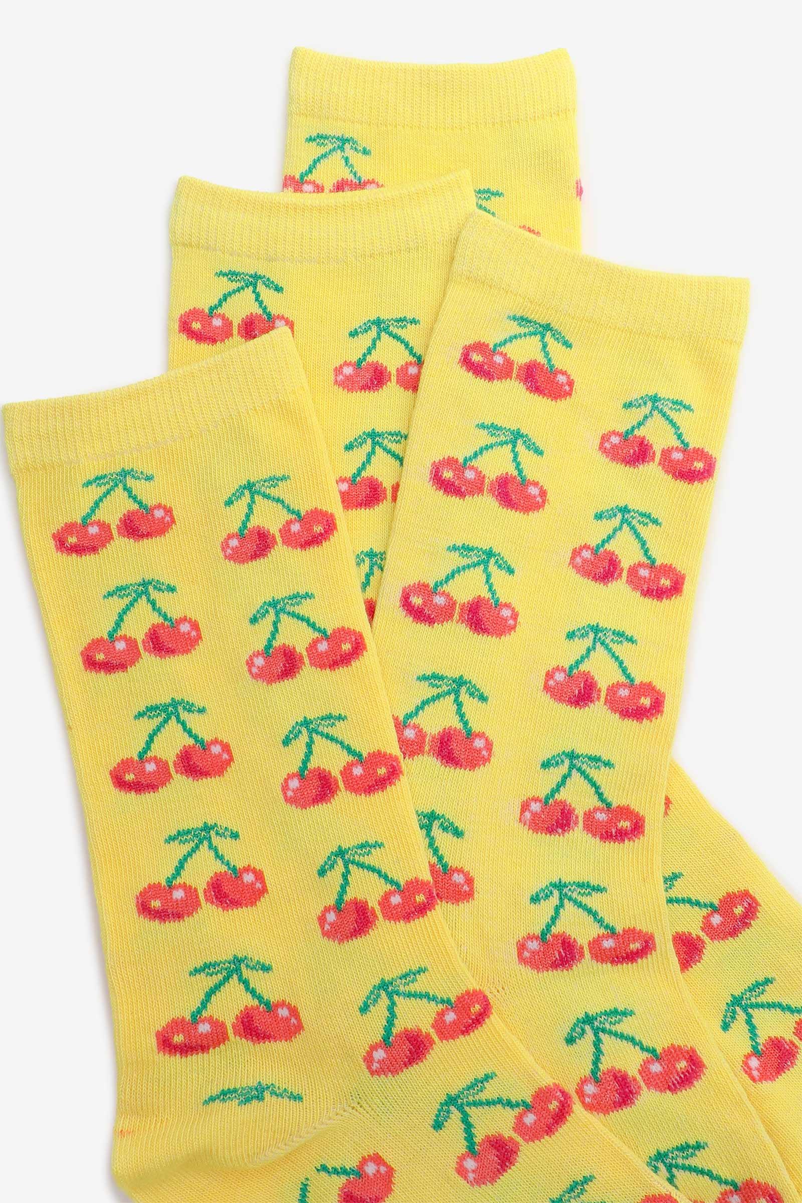 Chaussettes cerises