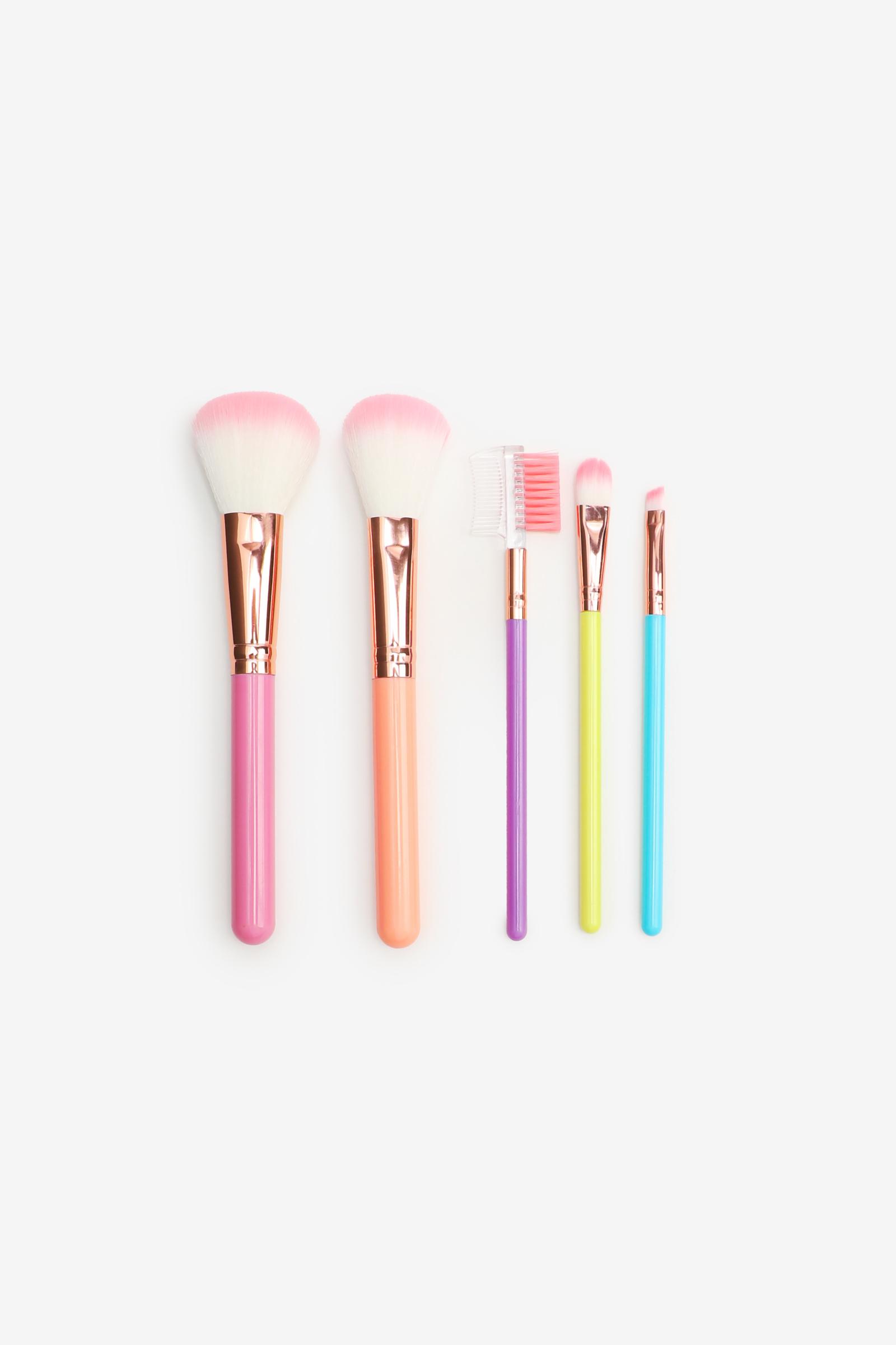 5-Pack of Makeup Brush Sets