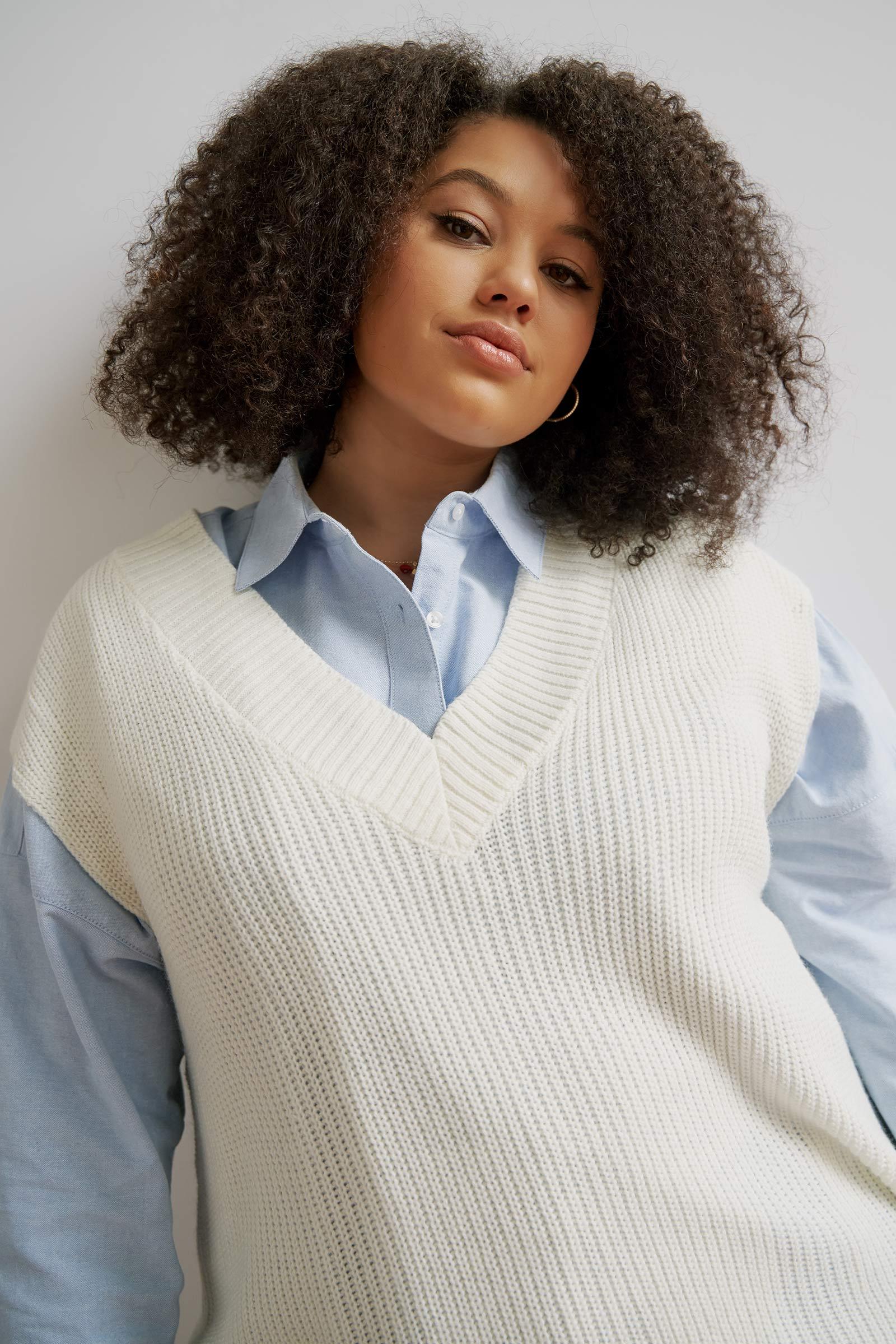 Long Sweater Vest