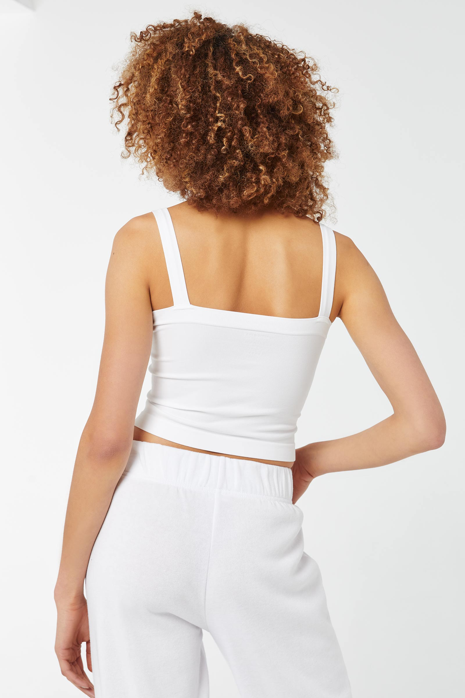 Basic Seamless Tube Top with Wide Straps