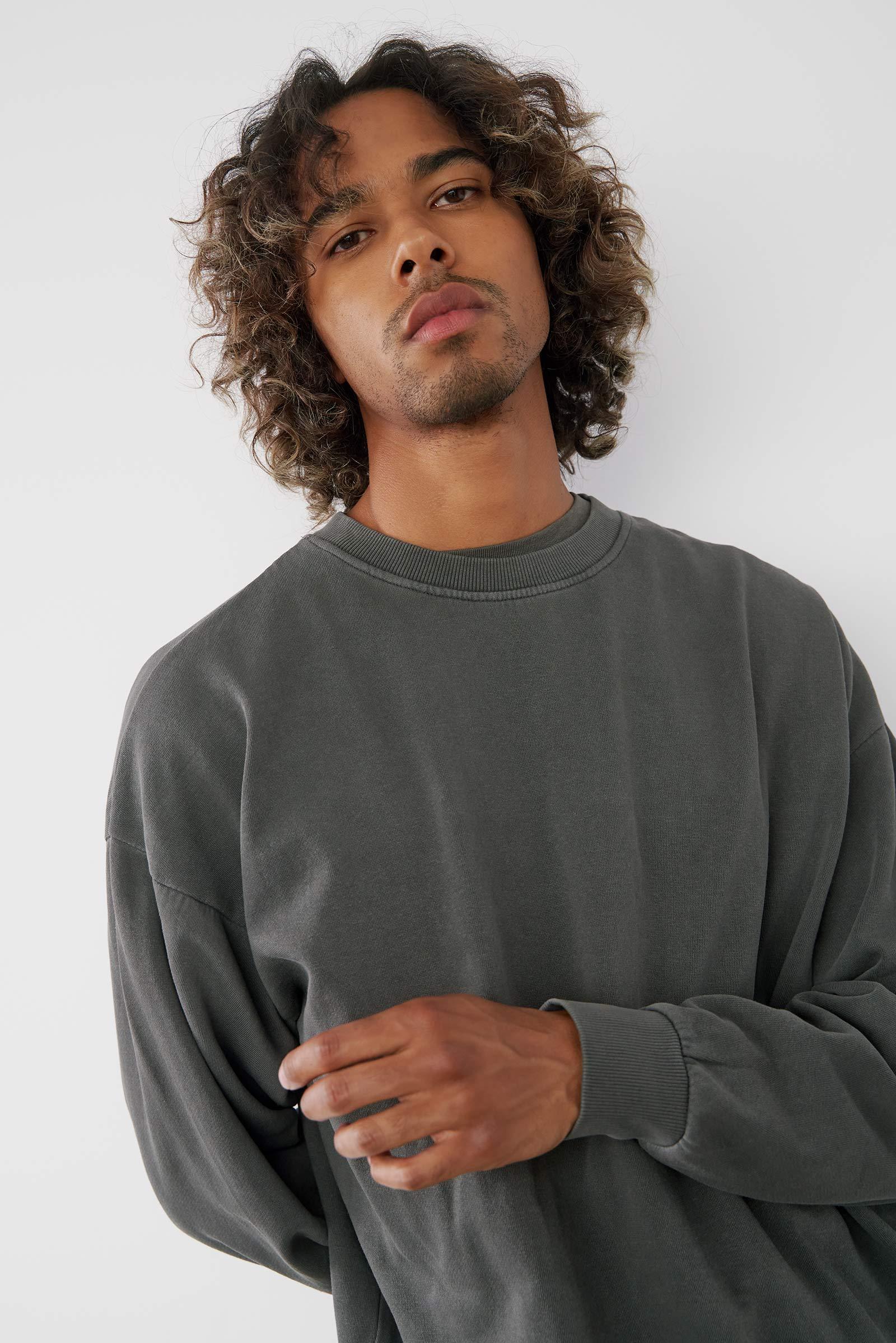 Crew Neck Sweatshirt for Men