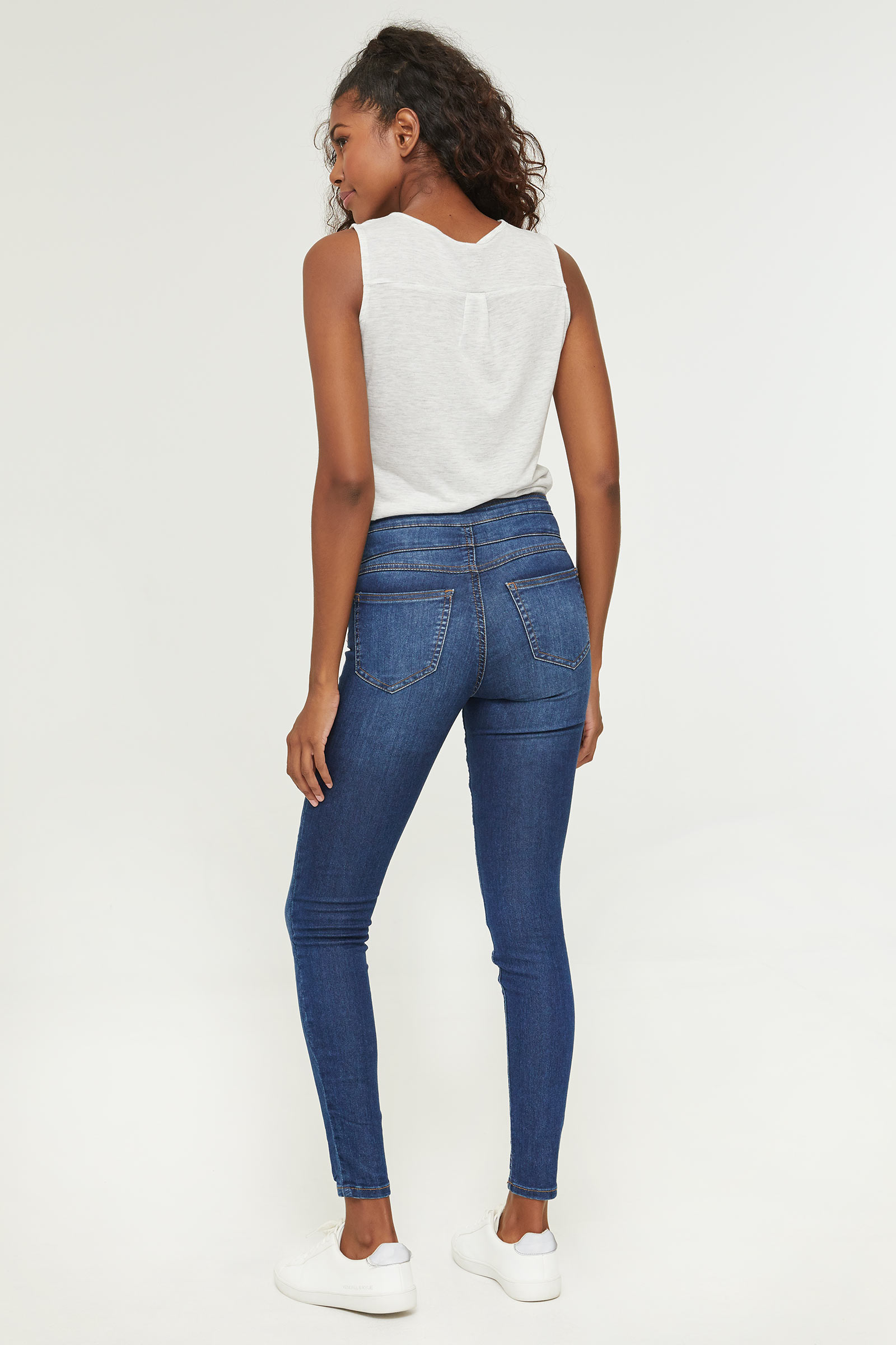 Eco-conscious Sustainable Fabric Skinny Jeans