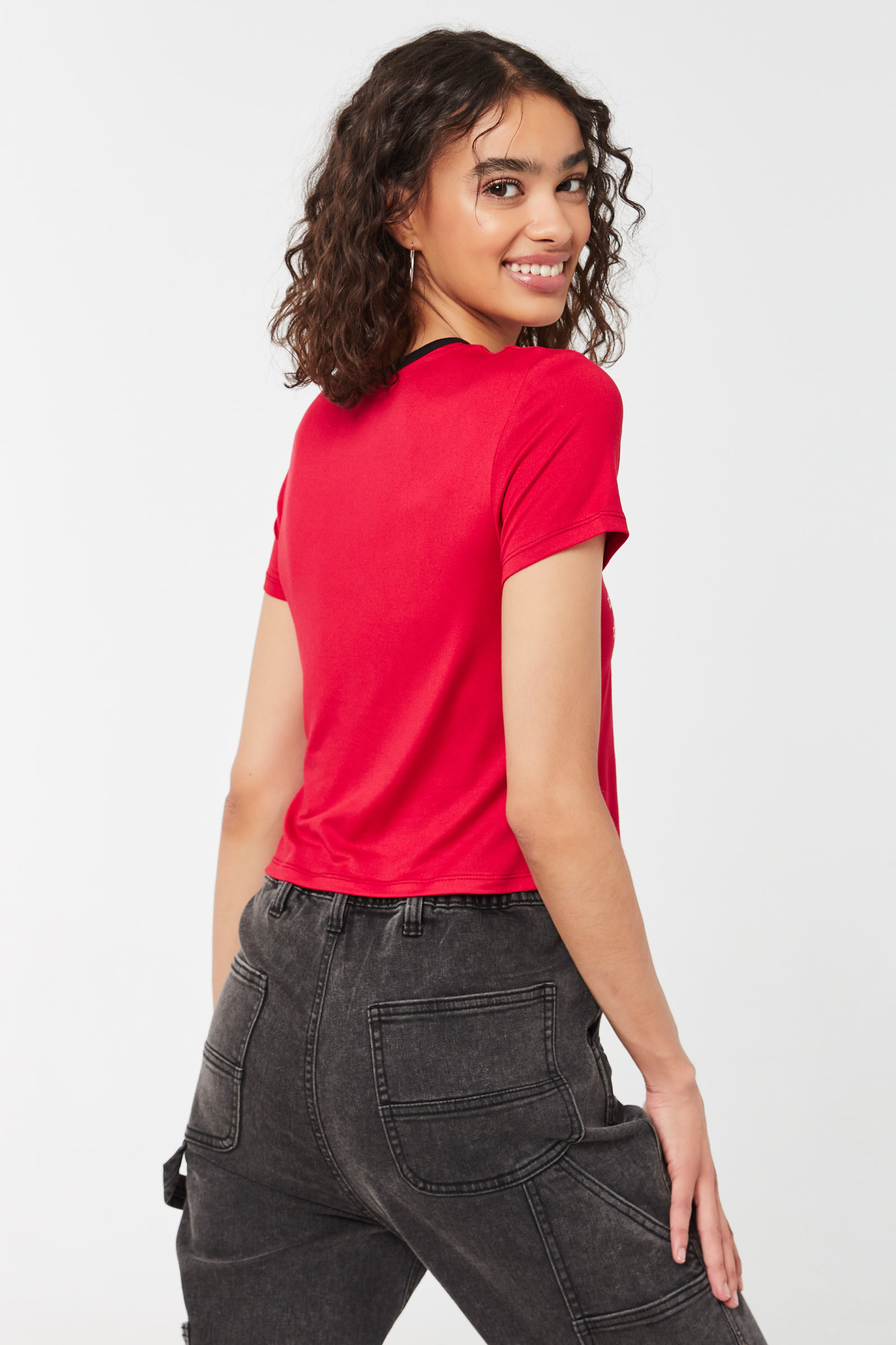 T-shirt à col ringer Limited Edition