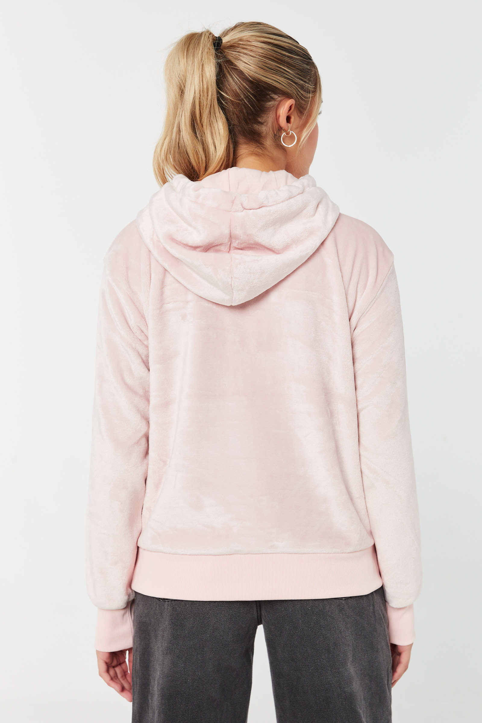 Oversized Hoodie with 2-Tone Drawstring