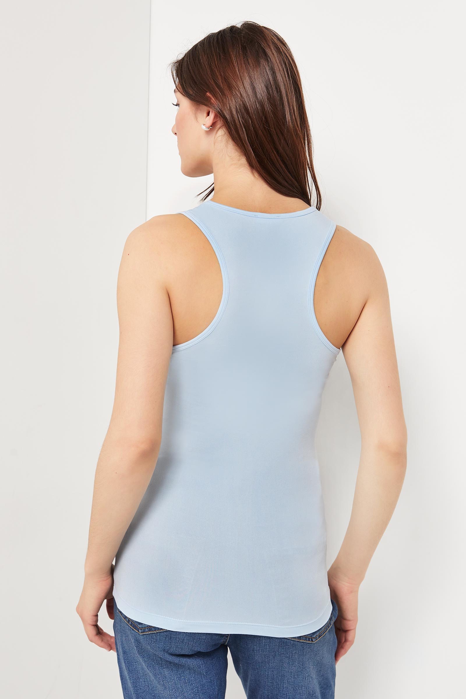 Basic Super Soft Tank with Lace Inserts