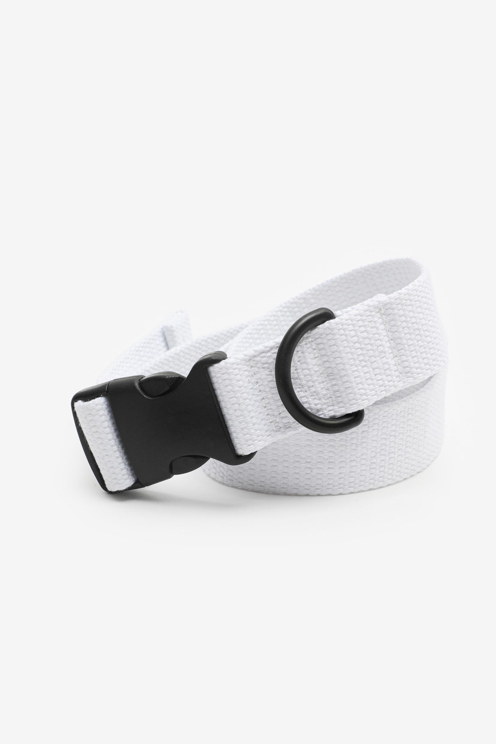 Canvas Clip Buckle Belt