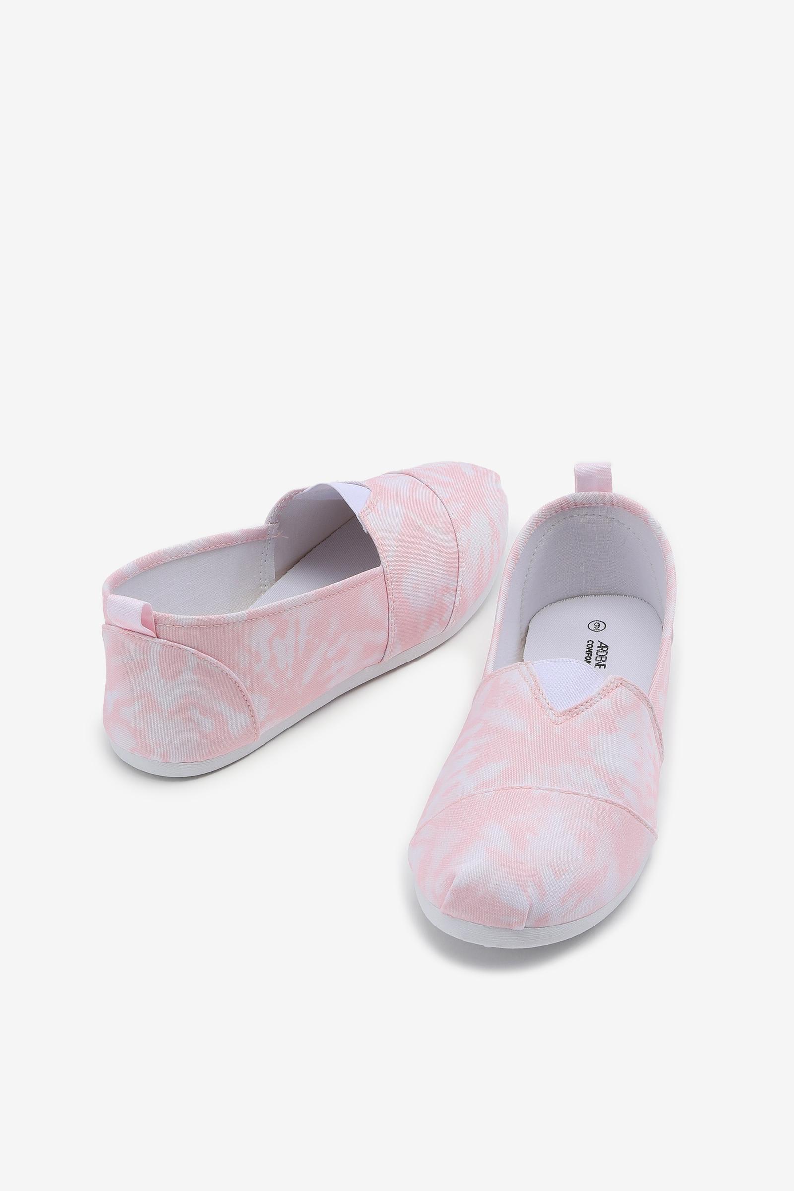 Tie-Dye Canvas Sneakers