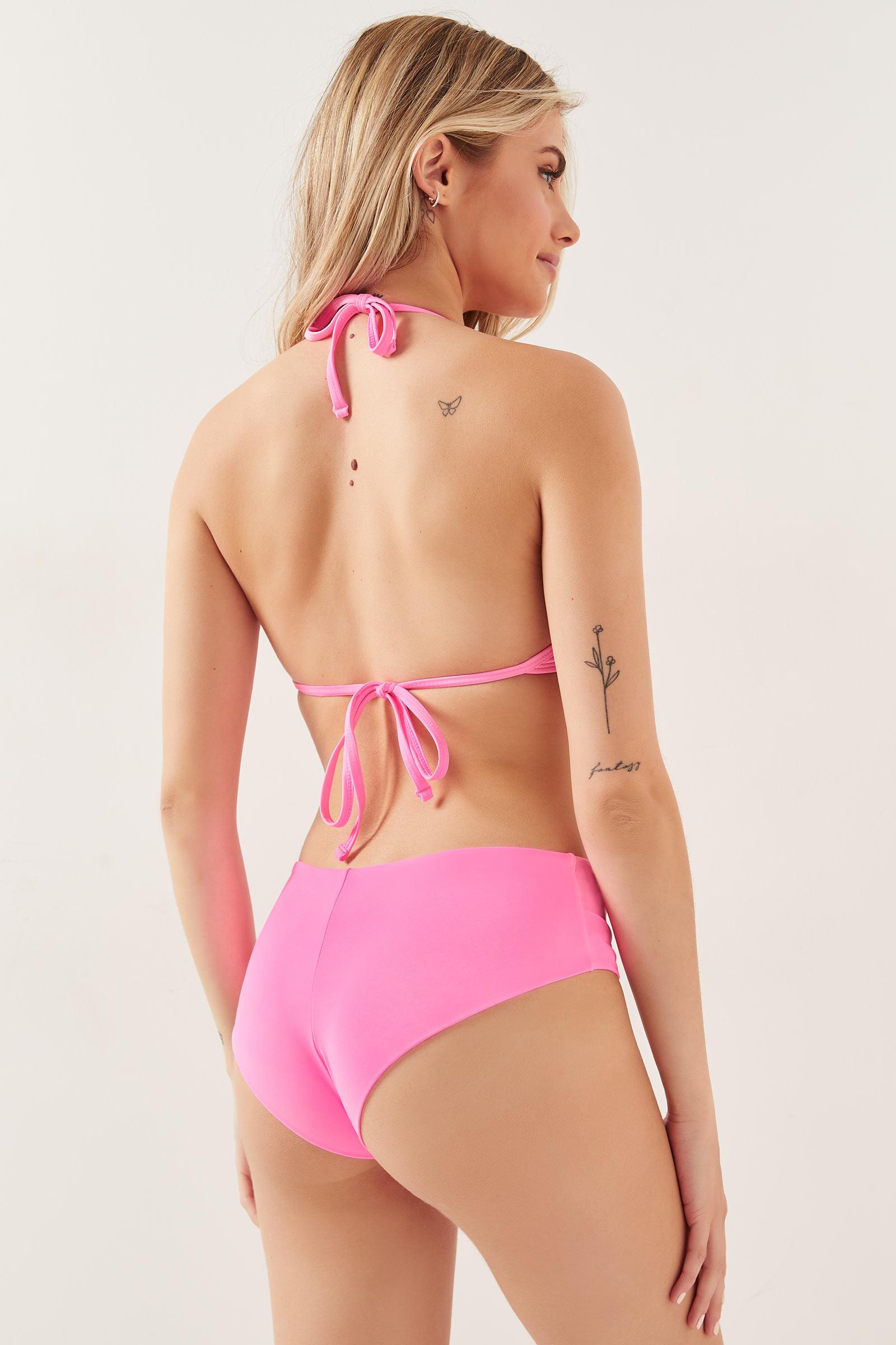 Neon Cheeky Bikini Bottom