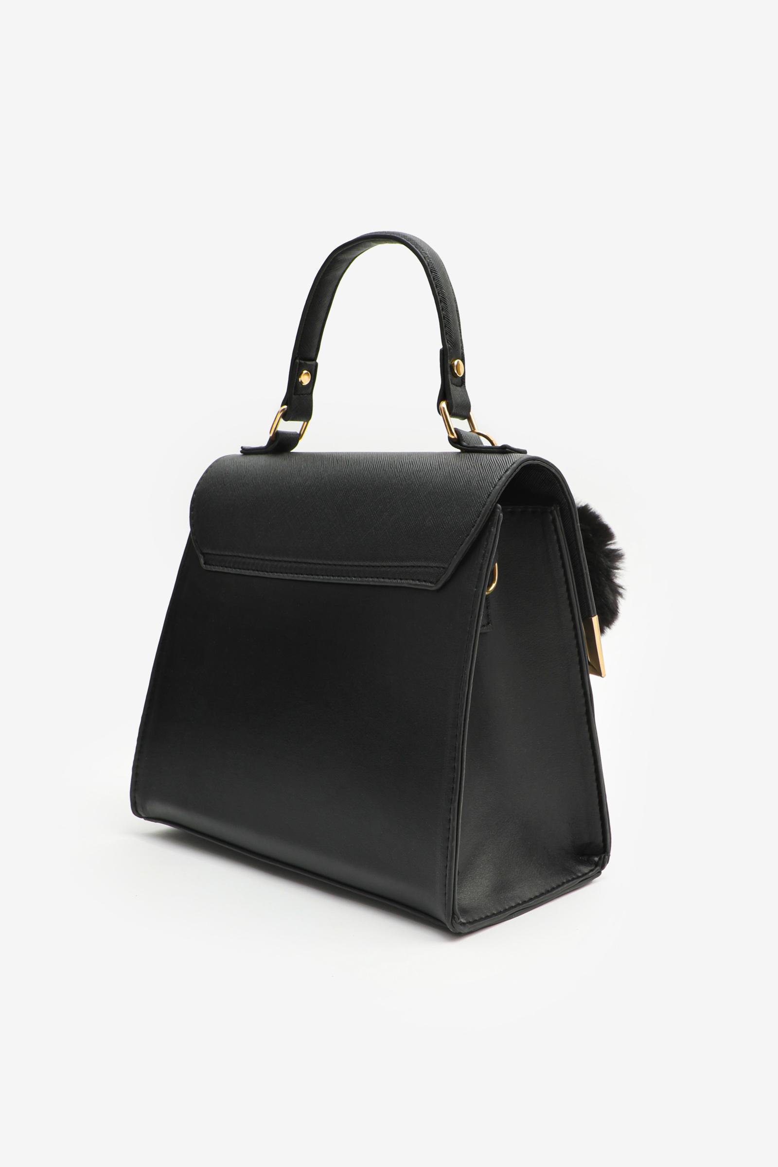 Small Color Block Tote Bag