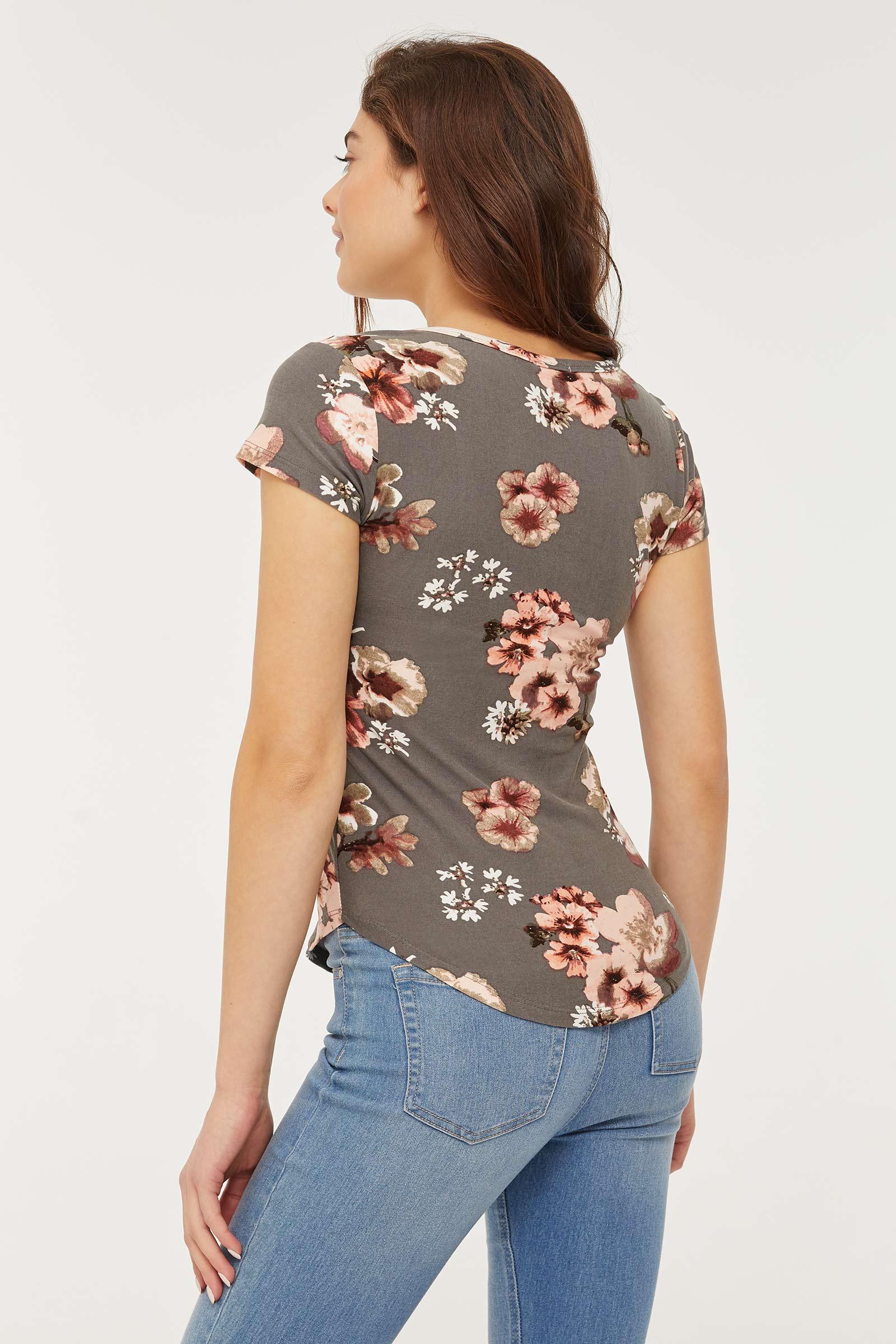 Floral Super Soft T-shirt