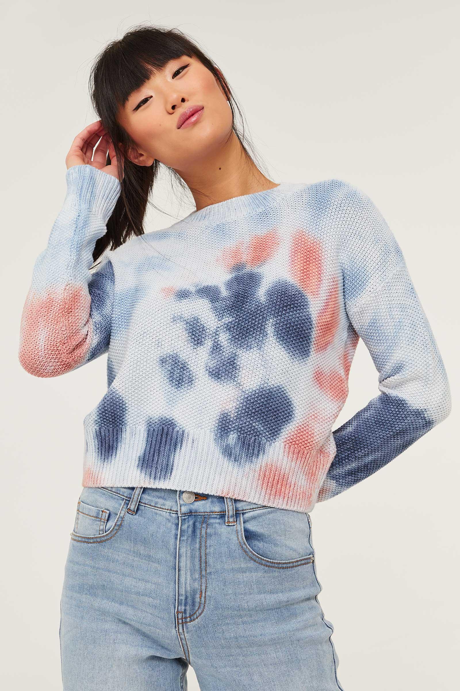 Tie-dye Sweater
